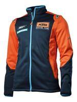KTM Replica Team Blue Orange Team Softshell Jacket New