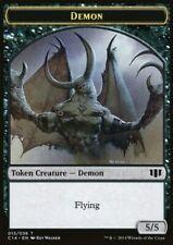 MRM FR/VF- 4x Token - Jeton - Demon - Démon - 5/5 - MTG magic COM14
