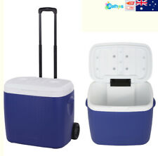 38L Esky Like Hard Cooler Ice Box For Camping Storage BBQ Outdoor Carry on Wheel