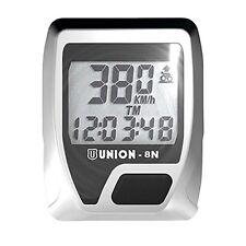 UNION Cuentakilometros ciclocomputador 8 funciones union n
