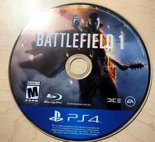 Battlefield 1 (Sony PlayStation 4, 2016) DISC ONLY 6033