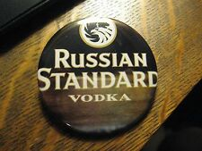 Russian Standard Vodka Premium Cocktail Martini Advertisement Lapel Button PIn