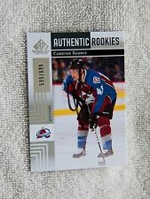 Colorado Avalanche Cameron Gaunce Signed 11/12 SP GU Rookie Card Auto #/699