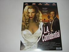AFFICHE PROMO VIDEO CLUB--L.A. CONFIDENTIAL--SPACEY/CROWE/PEARCE/BASINGER