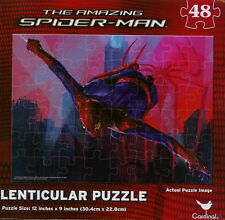 NEW ~ MARVEL ~ THE AMAZING SPIDER-MAN ~ 48 PIECE LENTICULAR MOVIE PUZZLE #1