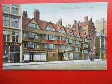 POSTCARD LONDON OLD HOUSES HOLBORN