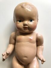 """VINTAGE COMPOSITION BABY DOLL 12"""" TALL"""