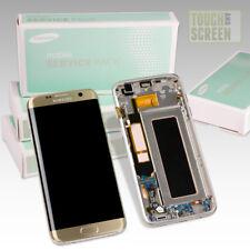 Ecran Original sur Chassis pour Samsung Galaxy S7 Edge Or