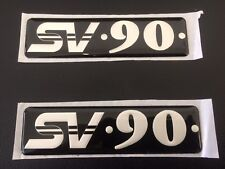 "Genuine VQ Statesman HSV SV90 "" Front Guard SV90 Badge's Pair  "" Rare"