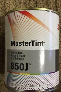 Axalta Dupont 850j Red Mixing Tint Toner Cromax Chromabase Premier