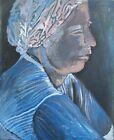 Brigitte Tietze Berlin Oil Painting Portrait of a Woman Expressive Realism