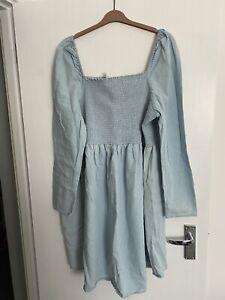 Asos Maternity Denim Dress Size 20 BNWT