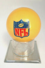 Official NFL Logo Billiards Cue Ball w/ Stand