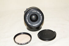 CANON FDn FD NEW 28mm 1:2.8 LENS WITH FILTER NEAR MINT 8075