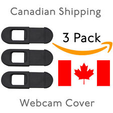 Webcam Cover 0.03in Ultra Thin 3 Pack,  Privacy webcam Cover for Laptop, PC