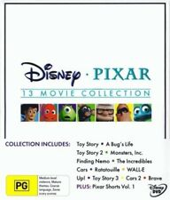 Brave Toy Story Bugs Life Monsters Inc Finding Nemo Incredibles Cars Wall-E Up D