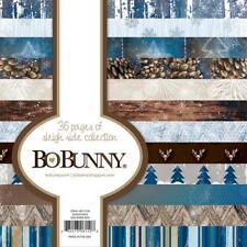 Bo Bunny SLEIGH RIDE 6x6 Paper Pad Pine Snow American Crafts Scrapbook Planner