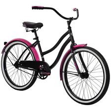 Huffy 24 inch Cranbrook Girls Cruiser Bike - Silver