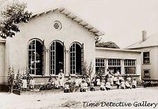 A School in Sacramento, California - 1916 - Historic Photo Print