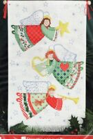 Cross Stitch Kit Christmas Traditions Angel Banner Designs For The Needle