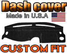 Fits 1995-1999 Hyundai Accent Dash Cover Mat Dashboard Pad / Black (Fits: Hyundai Accent)