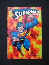 Superman: Doomsday Hunter Prey Book #1 1994 DC Comics