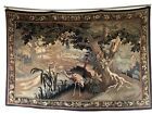 """French Tapestry 19th Century. Verdure Chantilly. 66"""" X 44"""""""