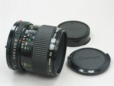 Canon FD Macro Lens 50mm f/3.5 near Mint 743