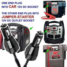 FAST DC CAR Charger adapter for Jump N Carry JNC660 JNC770 jump starter