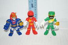Power Rangers Playskool Heroes Lot - Red Ranger - Green Ranger - Ninjor