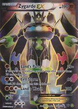 ~Pokemon Ultra Rare Holo Foil Full Art Zygarde EX 54a/124 XY Fates Collide!