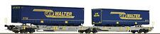 ROCO 67398 Doppeltaschenwagen neue Betriebsnummer 499 3 208-6 LKW Walter
