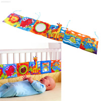 53AF 2E94 Mirror Study Animal Bed Cognize Cloth Book Baby Intelligence Toy Gift