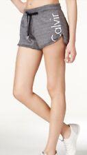Calvin Klein Women's Jeans Logo Gray Super Soft Fleece Lined Plus Size XXL NWT