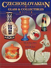 Antique Czechoslovakian Ceramics Moser Bohemian Glass / Scarce Book + Values