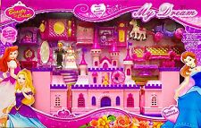 Princess Musical Castle Play Set w/Light & Music - 2972 - Ideal Girls Gift Toy