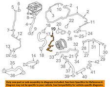 AUDI OEM 14-15 R8 5.2L-V10 Cooling-Connector Tube 420121481C
