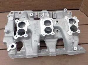Pontiac Aluminum Tripower Intake 1966 GM 9782898 NOS Never Used/Installed SWEET!