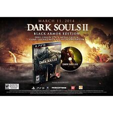 Dark Souls 2 II - Black Armor Edition w/ SteelBook & CD [PlayStation 3 PS3] NEW