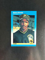 Barry Bonds Card *Lot Of 35* 1980s and Early 90s cards! 1987 Topps Fleer Rookie