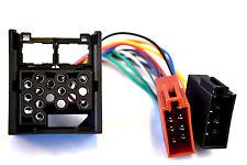 ISO din cable bmw e30 e36 e46 e34 e39 e32 e38 e31 x5 conector autorradio