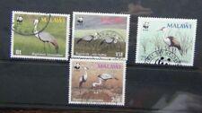 Malawi 1987 Wattled Crane set Used Birds