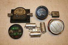 ELECTRONICS EQUIPMENT & METERS-PIECES & PARTS-HURST-WESTINGHOUSE-EMICO-SIMPSON