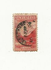 NEW ZEALAND Stamp 5 Shillings 5s Mount Cook 1900 Rare. Bargain Price