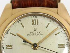 RARISSIMO ROLEX OVETTO BUBBLEBACK REF 2940 CIRCA 1940 TUTTO IN ORO 18K 0.750