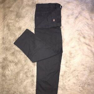 Vintage Black 874 Original Fit Dickies Trousers