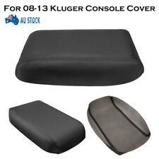 AU Leather Armrest Center Console Lid Cover For Toyota Kluger 2008-2013 Black