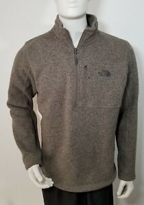 The North Face Pullover Quarter Zip Sweater Men's Size Large
