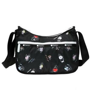 LeSportsac BTS Collection Classic Hobo Crossbody Bag in BT21 Black NWT
