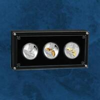 Australien - Lunar III Jahr der Maus - 3 Coin Set - 2020 PP Silber Mouse 3,0$